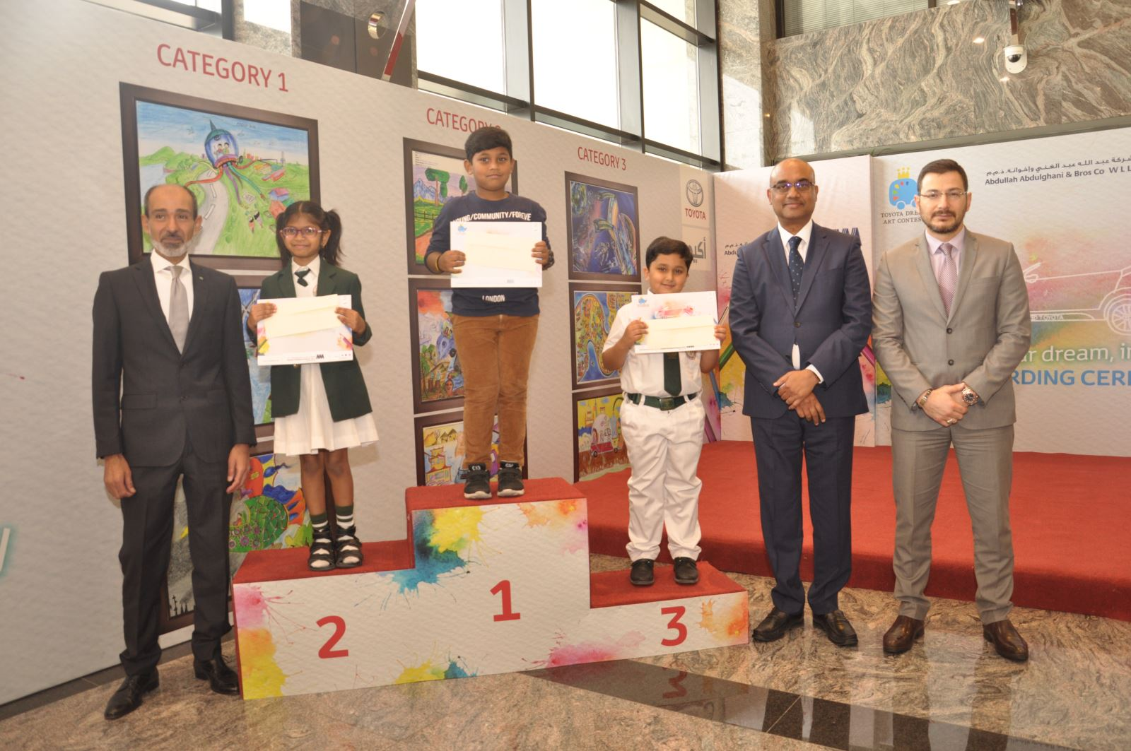 AAB unveils the winners of the Dream Car Contest