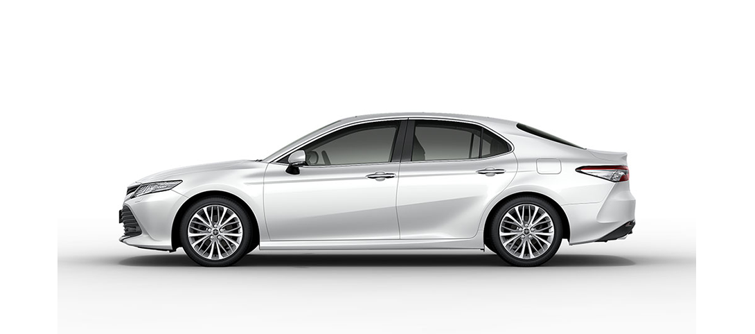 Camry Platinum White Pearl Mica