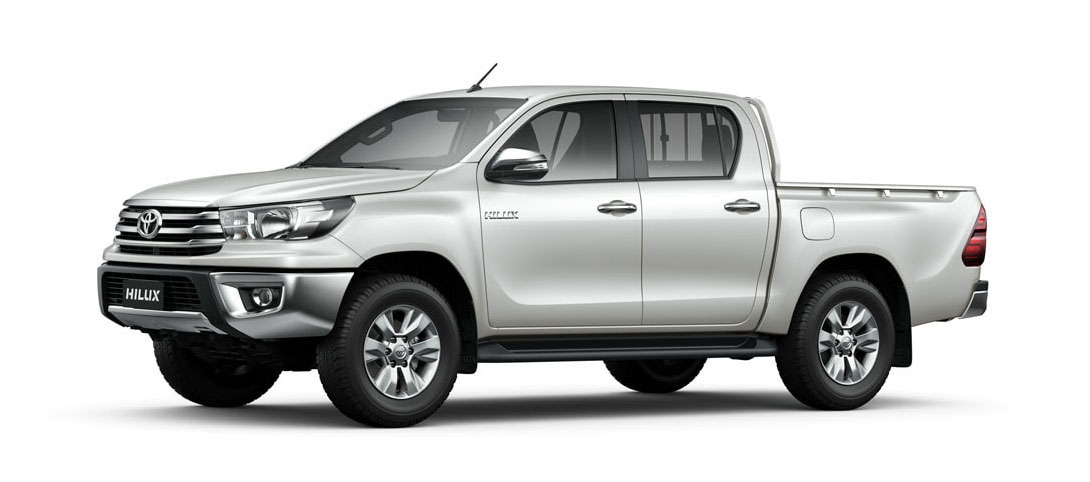 Hilux White Pearl Crystal Shine
