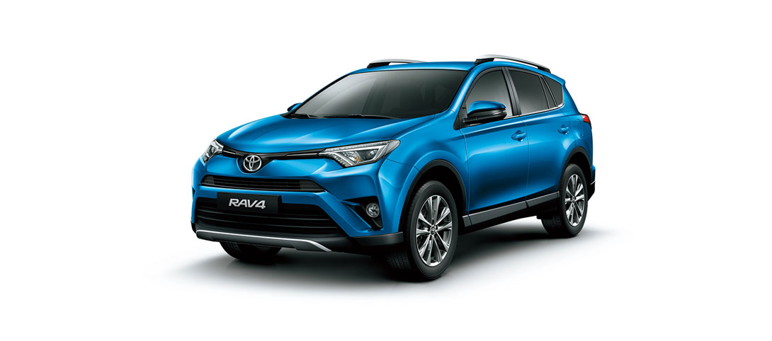RAV 4 Blue Metallic
