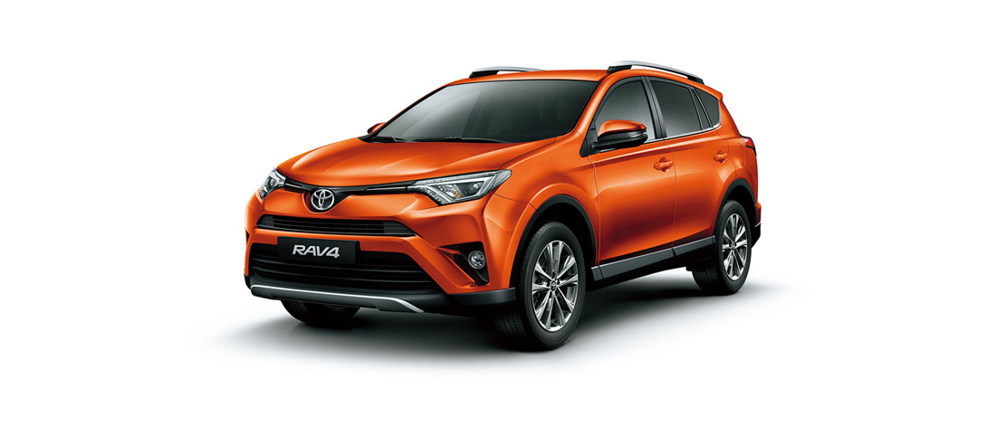 RAV 4 Orange Metallic