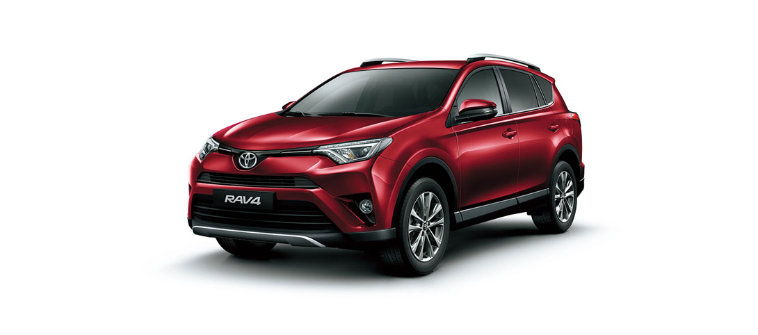 RAV 4 Red Mica Metallic