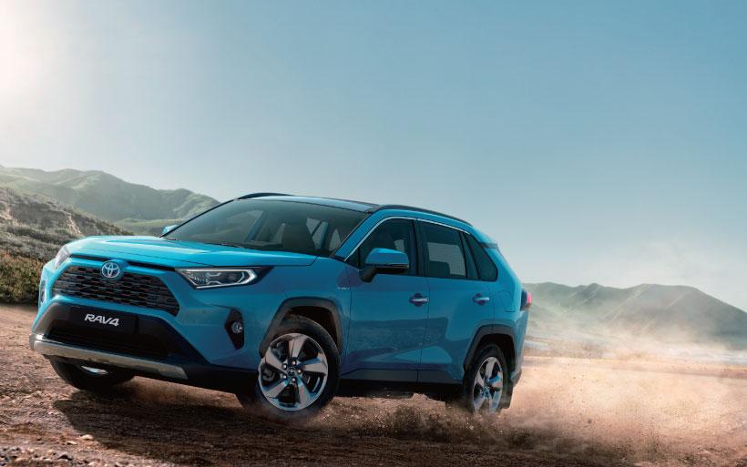 موقع تويوتا قطر الرسمي Toyota Rav 4